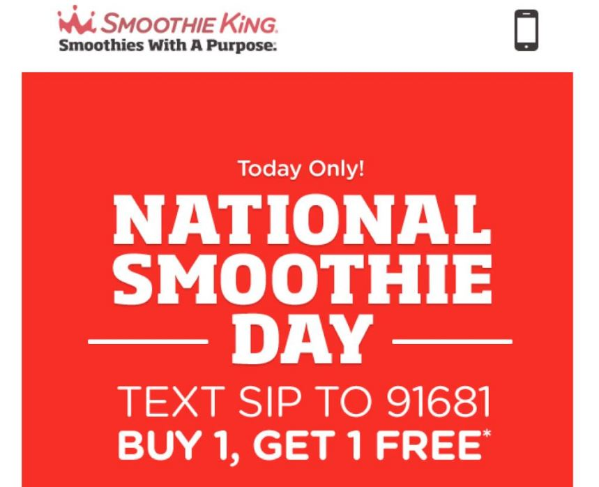 smoothie king coupons october 2019