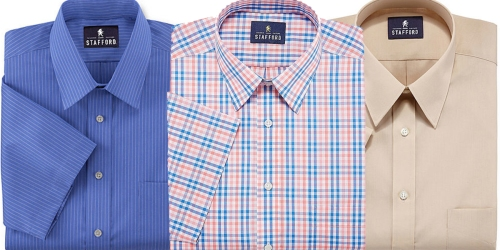 JCPenney: Stafford Men's Dress Shirts Only $11.89 (Regularly $36)