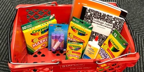 Staples Back to School Deals – 25¢ Notebooks, 50¢ Elmer's School Glue & More