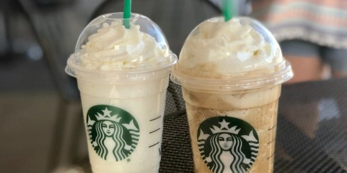 50% Off Starbucks Frappuccino Blended Beverages on August 2nd