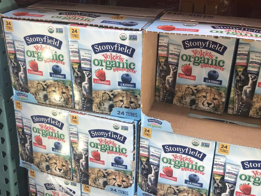 stonyfield at costco