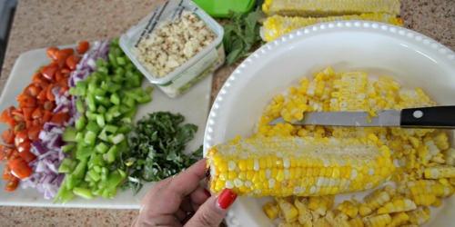Skip the Lettuce and Make this Fresh & Easy Summer Corn Salad