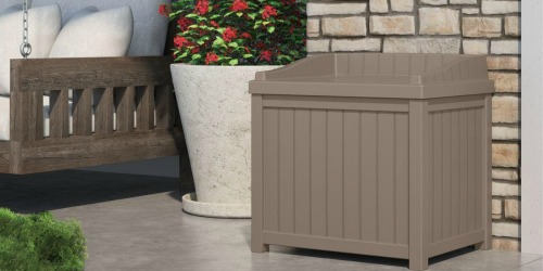 Suncast 22 Gallon Deck Box Only $29.99 at Home Depot