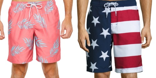Men's Swim Trunks Only $8.49 at JCPenney (Regularly up to $40)