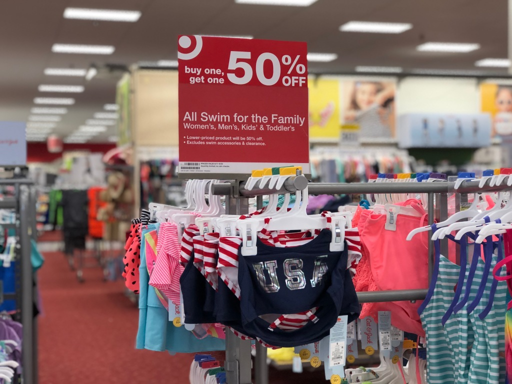 7f9c8a096bcfe Buy One, Get One 50% Off Swimwear for the Family at Target (Online ...