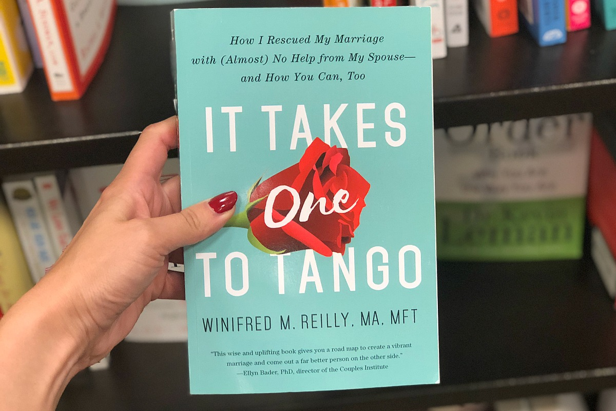 best novels, cookbook, and other books our loves - takes one to tango