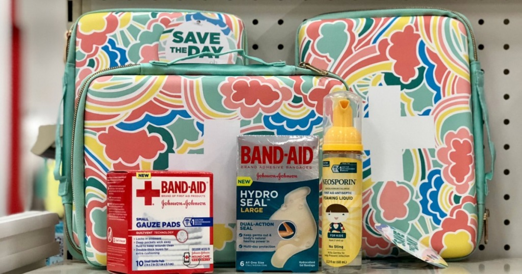 FREE First Aid Bag w/ Purchase of 3 First Aid Products at
