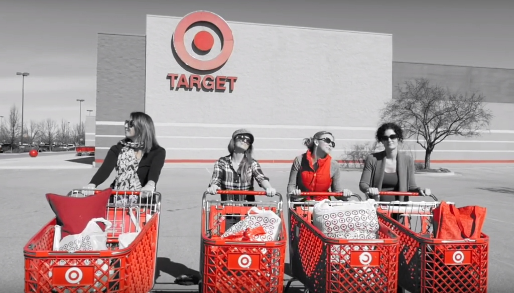 Target Big Red Ball Video