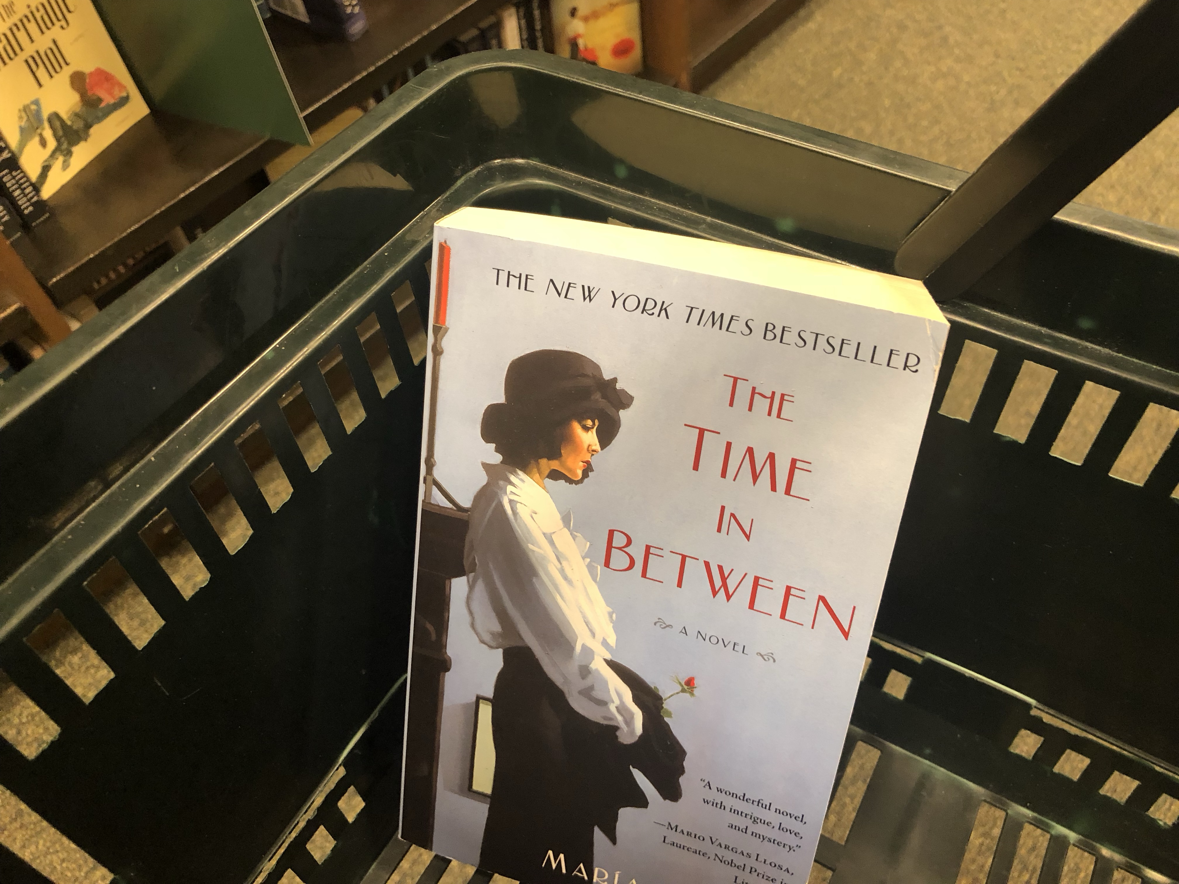 best novels, cookbook, and other books our team loves — The Time in Between book