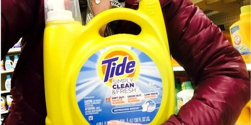 HUGE Bottles of Tide Simply Clean & Fresh Detergent Only $6 Each After Target Gift Card
