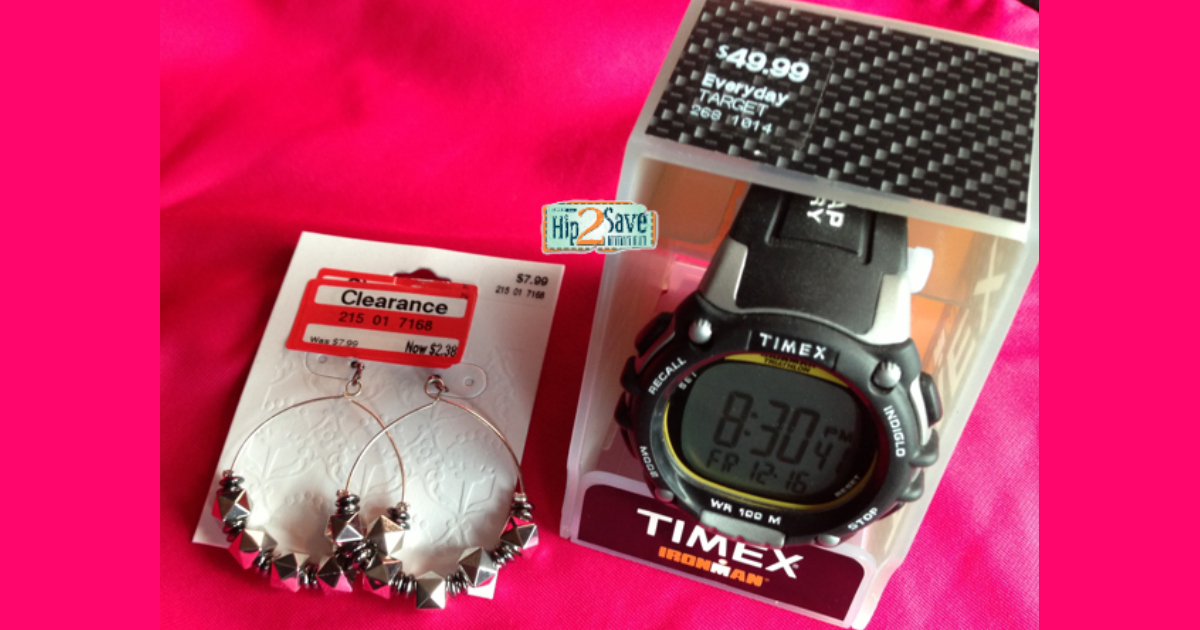 Hip2Save decade of favorite freebies and deals – Timex Deal at Target