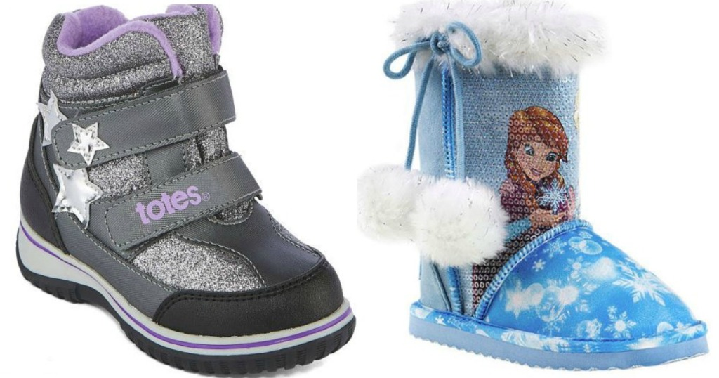 a8f9bfd3a5b6 JCPenney.com  80% Off Toddler Winter Boots (Disney