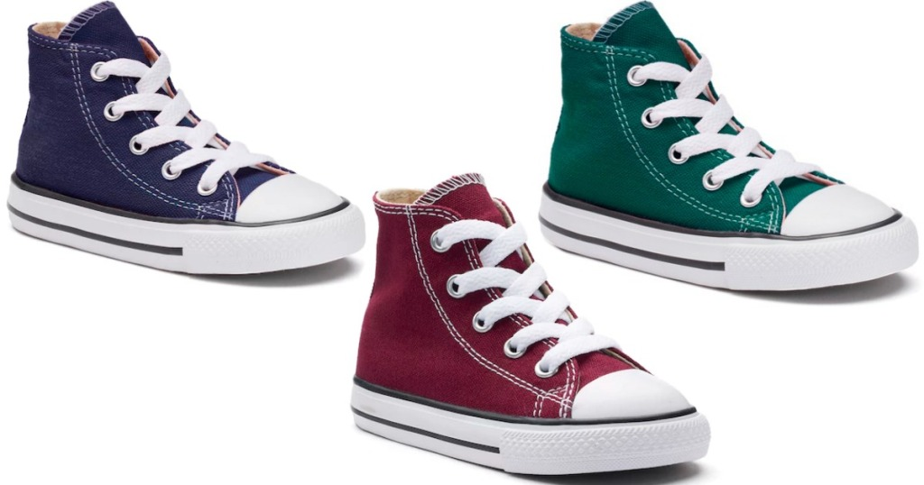 82f0ede3e1306b Converse Toddler Chuck Taylor All Star High Top Sneakers  12 (regularly   30) Use code KCSHIP Final cost  12 shipped!