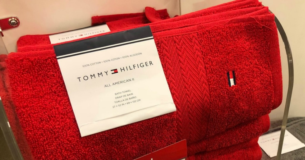c92e6348 Over 60% Off Tommy Hilfiger Bath Towels at Macy's - Hip2Save
