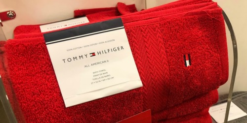 Up to 75% Off Tommy Hilfiger Bath Linens + Free Shipping