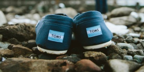 Saks Off 5TH: Buy One, Get One Free Kids Shoes = TOMS Shoes Only $14.50 Each Shipped