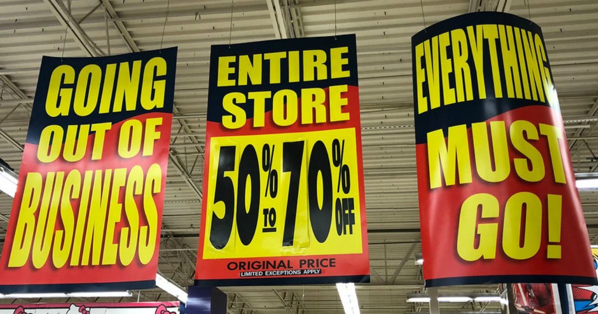 ToysRUs Going Out of Business Sale Signs – Could the brand be making a comeback?