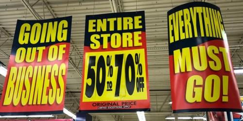 ToysRUs Closing Sale = 50%-70% Off Entire Store