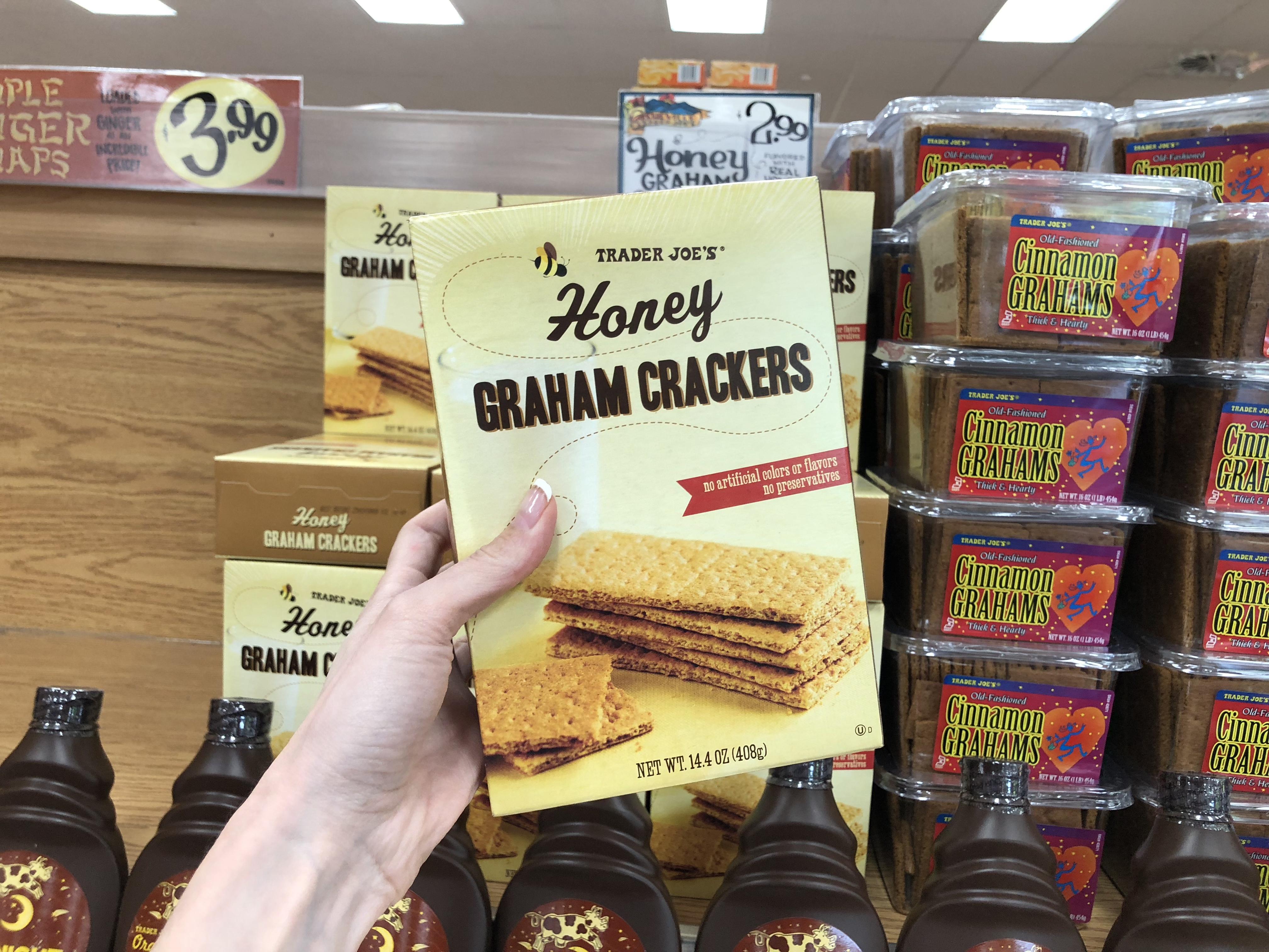 trader joes deals – honey graham crackers