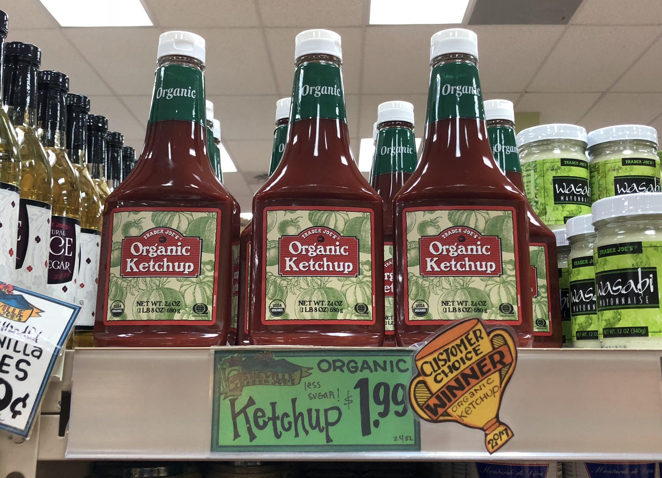 trader joes deals – organic ketchup