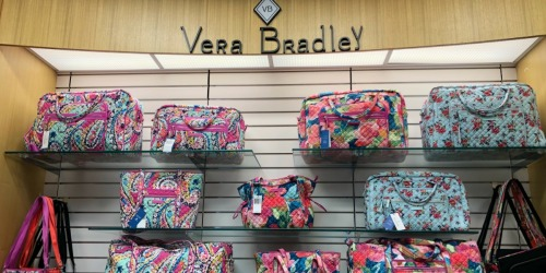 Vera Bradley Duffel Bags Only $19.25 Shipped (Regularly $78) & More