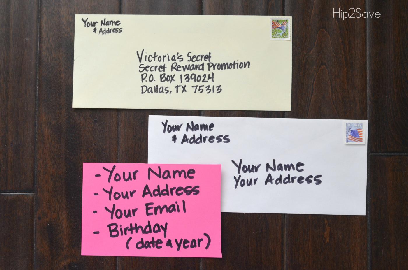 Hip2Save decade of favorite freebies and deals – Victoria's secret revised-envelopes