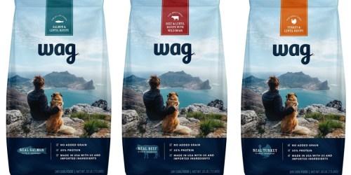 Amazon: 50% Off Wag Dry Dog Food