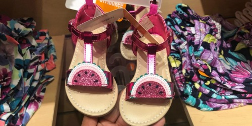 Up to 75% Off Gymboree Sandals & Shoes + Free Shipping (All Under $10)