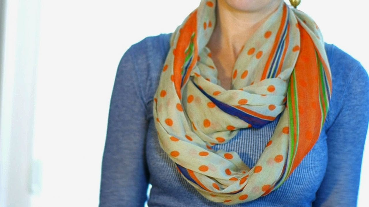 top 10 youtube videos – Ways to wear scarf Hip2Save