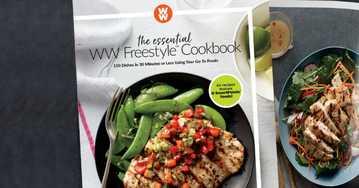 Receive a free weight watchers cookbook like this one with a qualifying membership