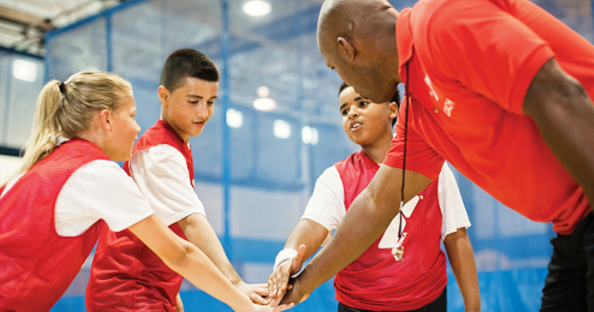 7th grader free YMCA membership | coach and team