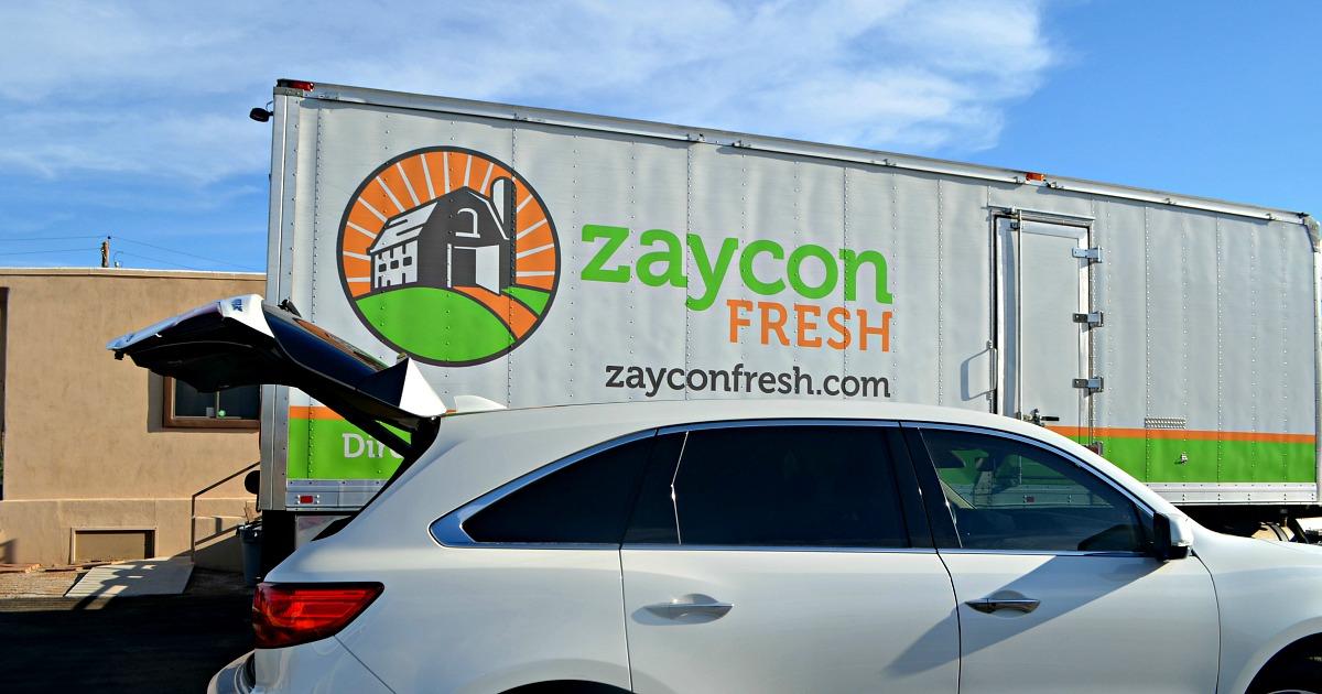 zaycon fresh suspended business operations - Zaycon fresh truck