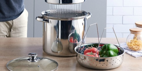 Mainstays Stainless Steel Stockpots as Low as $5.89