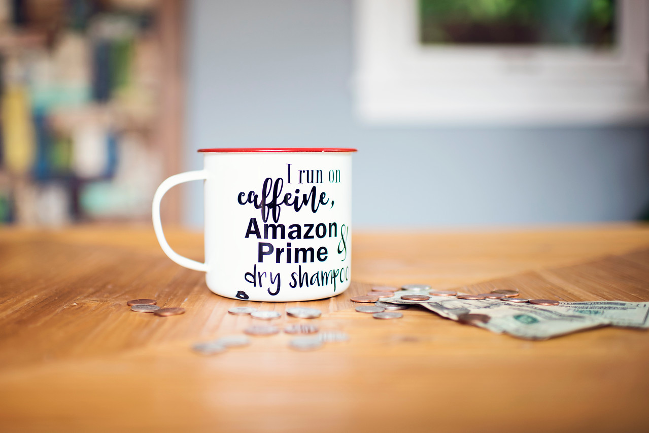 use amazons subscribe & save program (read this to get the most bang for your buck) – mug and change