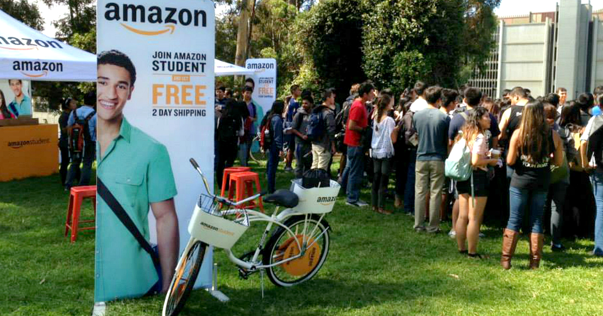 College Students Get a FREE 6-Month Amazon Prime Membership (Includes 1-Day Shipping!)