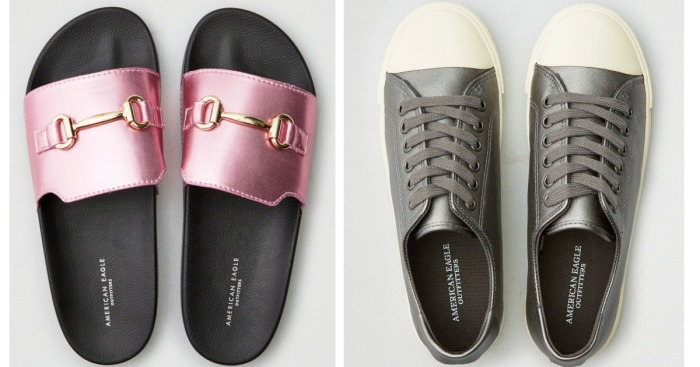 Over 60% Off American Eagle Slides & Shoes