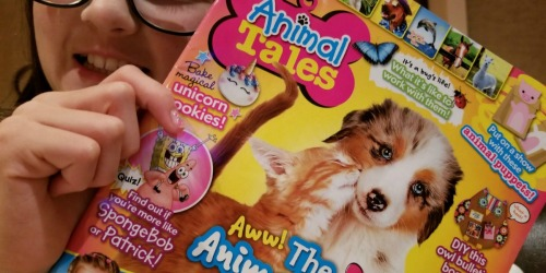 Animal Tales Magazine Only $13.99 Per Year