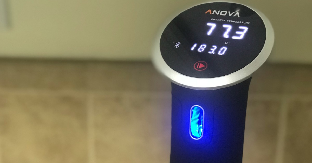 get perfectly cooked meat and veggies – Anova sous vide cooker