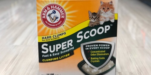 Arm & Hammer Cat Litter Only $3.99 at Rite Aid (Regularly $9.49)