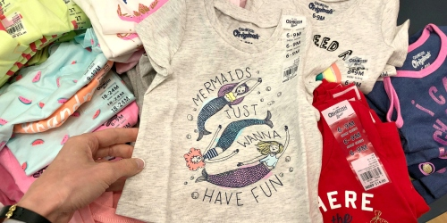 Carter's & OshKosh B'Gosh Tees Only $2.99, Dresses Only $6.59 & Much More