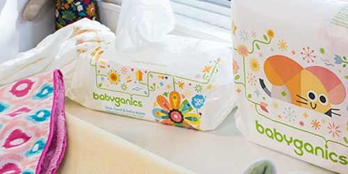 Amazon: Babyganics Fragrance-Free Baby Wipes 800-Count Only $11.82 Shipped