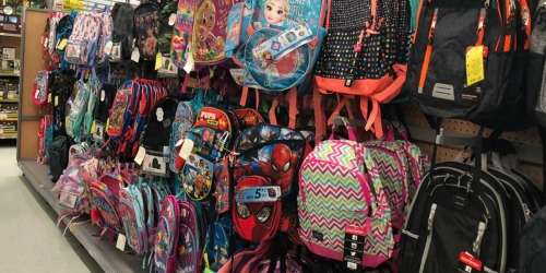 Kids Character Backpacks Only $7.50 on Walmart.com | Disney, Minecraft & More