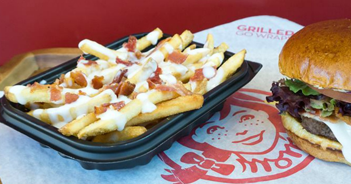 Stores, restaurants, hotels, and other places that offer senior discounts – Wendy's Baconator fries and sandwich
