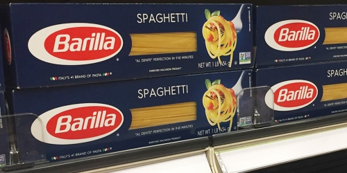 Barilla Spaghetti Boxes 8-Pack Only $7.37 Shipped on Amazon | Just 92¢ Per Box