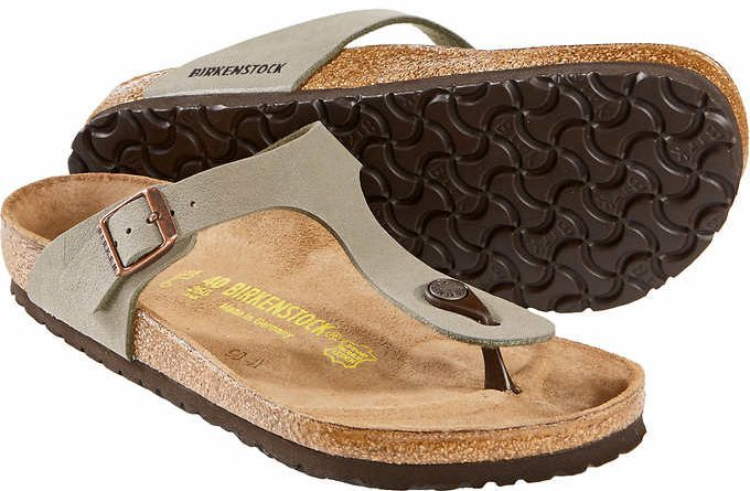 81ed38c5e19 The footbed contours to the shape of your foot for additional support. The  Birko-Flor are made of a durable