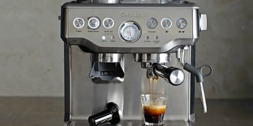 Breville Factory Reconditioned Barista Express Espresso Maker Only $359.99 (Awesome Reviews)