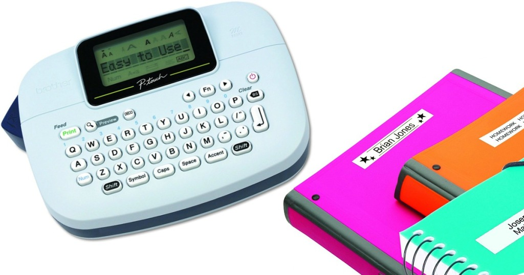 Brother P Touch Personal Label Maker Only 9 99 Regularly 30