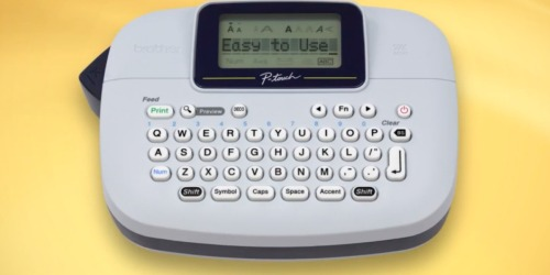 Brother P-Touch Personal Label Maker ONLY $9.99 (Regularly $30)
