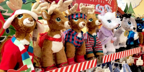 Build-A-Bear: 40% Off Holiday Furry Friends + Up to 50% Off Outfits
