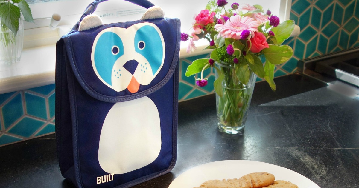 back to school deals supplies backpacks lunch bags – lunch bag with a doggy face